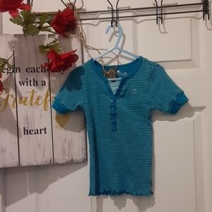 ♦️🆕️Girls 5/6T Childrens Place Teal Top